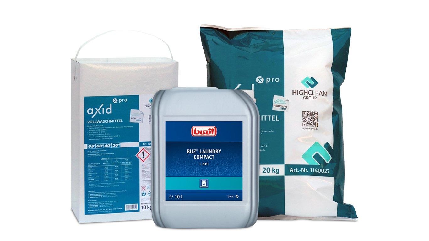 Reinigungsprodukte_Textile Reinigung und -desinfektion